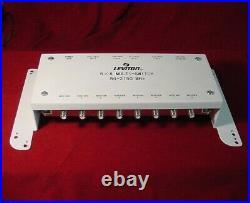 Leviton 5 x 8 Multi-Switch Satellite Cable Splitter Module-010-47691-5MS