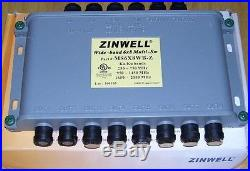 Lot 10 Directv 6x8 MultiSwitch Wide-Band KaKu Satellite Dish Switches MS6X8WB-Z