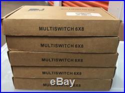 Lot 5 Directv 6x8 Multi-Switch DTV Wide-Band KaKu Satellite Dish MS6X8WB-Z