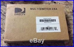 Lot Of 20 NIB Zinwell DIRECTV 2X4 Multiswitch 101 Satellite Dual LNB MS2X4R0-03