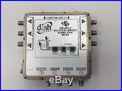 Lot Of 4 Dish Network DP34 Satellite Multiswitch 3X4 DP 34 Multi Switch