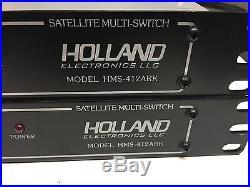 Lot of 2 Holland Electronics Satellite Multi-Switch Model HMS-412ARK