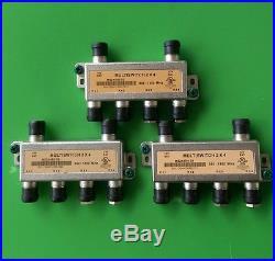 (Lot of 3) New 2x4 Satellite Multi-Switch 950-1450 MHz (MS2X4R0-03)