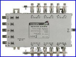 MULTISWITCH 5X12 EVO V5 Plug Type UK