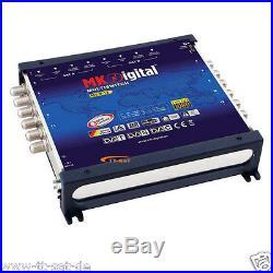 Multi-Switch 9/16 HDTV FULL HD 9 16 Fiche avec NT ASTRA 3D SATELLITE NUMERIQUE