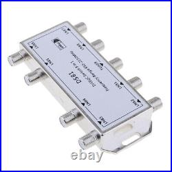 Multi Switch LNB Satellite FTA 8 Output Combiner LNBF Dish DS81 Silver
