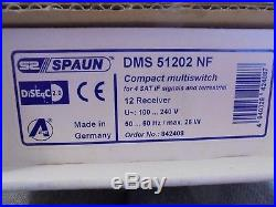 NEW IN BOX Spaun S2 Multiswitch Satellite System DMS 51202 NF