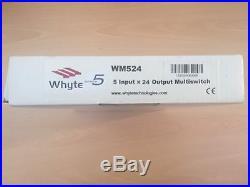 NEW WHYTE Technologies 24-Way Professional Satellite Multiswitch WM524