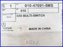 NIB Leviton 47691-5MS 5 x 8 Multi-Switch Satellite Cable Splitter Module