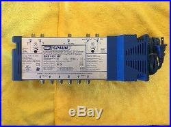 NOS SPAUN SMS 5601 NF 4x6 SATELLITE MULTISWITCH
