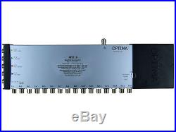 Optima 5 In x 16 Out 4K/3D HD Ready Satellite & Terrestrial Multiswitch FREE P&P