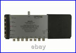 Optima Vision MS508LTE 5×8 Multiswitch LTE Mains Powered Aerial Satellite Dis