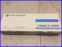 Pico Digital TSMS-5/16RK Rack-Mounted 14V/18V Satellite Multiswitch 16 output