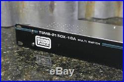 Pico Macom TSMS-2150X-16A Rack Mounted 2x16 Satellite Multi Switch FREE SHIPPING