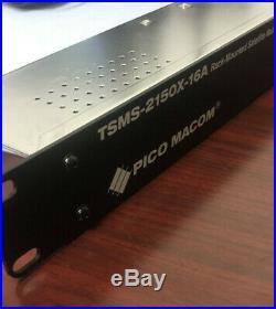Pico Macom TSMS-2150X-16A Rack Mounted Satellite Multiswitch