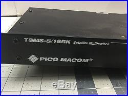 Pico Macom TSMS-5/16RK Rack-Mounted Satellite MultiSwitch