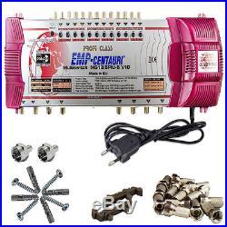 Pro Class EMP 13-8 Multi Switch 3 Satellite = 8 Subscribers HD 4K