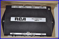 RCA Dish Satellite 3 Input 4-Way MultiSwitch Switch NEW Model# D6214