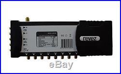 Revez Gold Premium 5×8 Satellite & Terrestrial Multiswitch