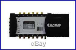 Revez Gold Premium 5 x 12 Satellite & Terrestrial Multiswitch