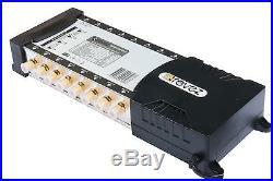 Revez Gold Premium 9x16 Satellite Terrestrial Multiswitch 9 inputs 16 outputs