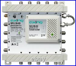 SAT multiswitch Axing Ingressi (Multiswitch) 5 4 satellitare / 1 SPU 58-09