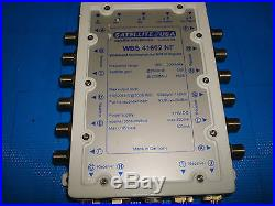 SATELLITE USA Wideband Multiswitch 4x16 For SAT-IF Signals WBS 41602 NF