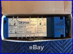 SPAUN SMS5801NF COMPACT 4x6 POWERED SATELLITE MULTISWITCH