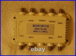 Satellite Multi Switch Model 5004 Freq 40-2200mhz
