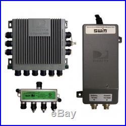 Satellite TV Antenna Single Wire Multi-Switch Kit