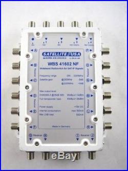Satellite USA WBS41602NF Wide Band Satellite Multiswitch Ka/Ku 4x16 DirecTV