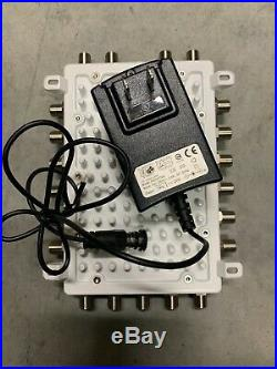 Satellite USA WBS41602NF Wide band Multiswitch for SAT-IF Signals & Power Supply