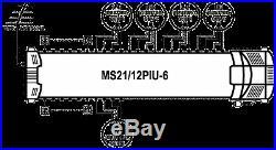 Satellite multiswitch MS21/12PIU-6 (21inputs, 12outputs), Made in EU, 4yrs. WNTY