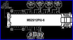 Satellite multiswitch MS25/12PIU-6 (25inputs, 12outputs), Made in EU, 4yrs. WNTY