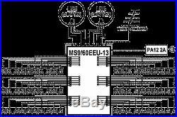 Satellite multiswitch MS9/60EEU-13 (9inputs, 60outputs), Made in EU, 4yrs. WNTY