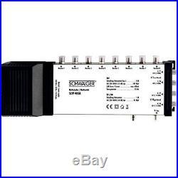 Schwaiger SEW4058531 5 / 8 Satellite Multiswitch Silver