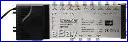 Schwaiger SEW4094531 9 DiSEqC Satellite Multiswitch 4 / Silver