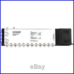 Schwaiger SEW4512531 5 / 12 Satellite Multiswitch Silver
