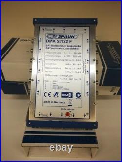 Spaun DMK 55122 F 12 output SAT Cascadable Satellite Multiswitch
