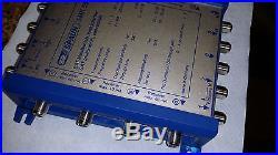 Spaun SBK 5502 NF Satellite Signal Amplifier SMK 5582 F Multiswitch