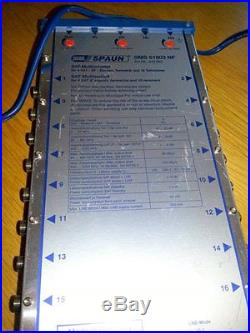 Spaun SMS 51603 NF satellite multiswitch (842482) 5x16 4x16