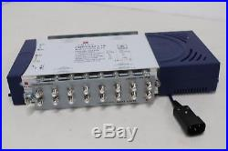 TRIAX 305379 Wideband Multiswitch 5x32 LMS 5-Input Compact Satellite Terrestrial