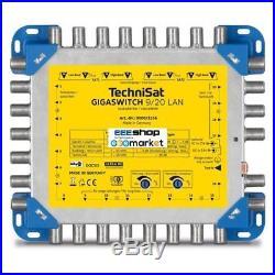 TechniSat 0000/3256 GigaSwitch 9/20 LAN 9inputs 20outputs satellite multiswitch