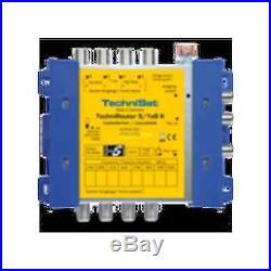 TechniSat TechniRouter 5 / 1x8 GR multiswitch Satellite 0001/3290