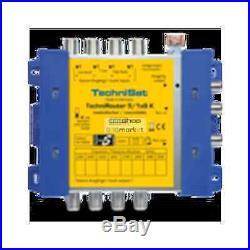 TechniSat TechniRouter 5 / 1x8 K Multiswitch satellite signal 0000/3291