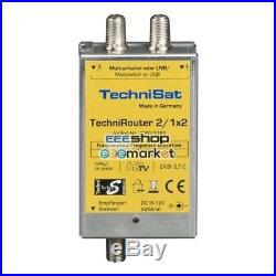 TechniSat TechniRouter Mini 2/1x2 satellite multiswitch 0000/3289 Accessori