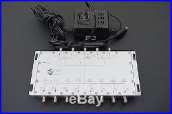 Terk BMS-58 Integrated 5x8 Satellite Multi-Switch with Power Supply