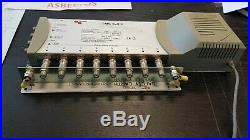 Triax 300338 TMS 5x8 P 8 output satellite TV multiswitch