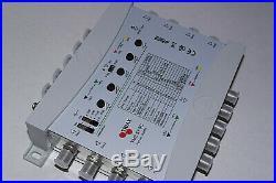 Triax Multi-commutateurs satellite pour 8 récepteurs Commutateur Multiswitch