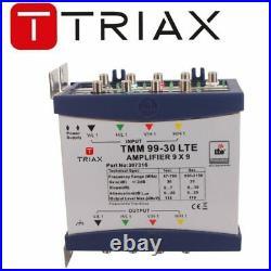 Triax TMM 99-30 LTE Multiswitch Satellite Terrestrial Amplifier- 307316